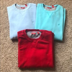 Lot of 3 Men's Izod Sweatshirts